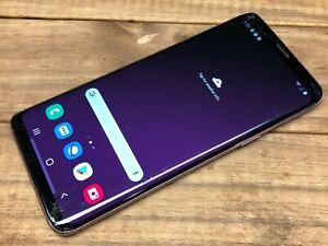 Samsung-Galaxy-S9-SM-G960U-64GB-Purple-Sprint-Cracked-Can-039-t-Activate