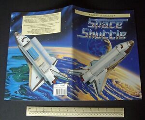 NASA-Space-Shuttle-Card-Cut-Out-Model-Book-1988-Vintage-Unused-Old-Stock
