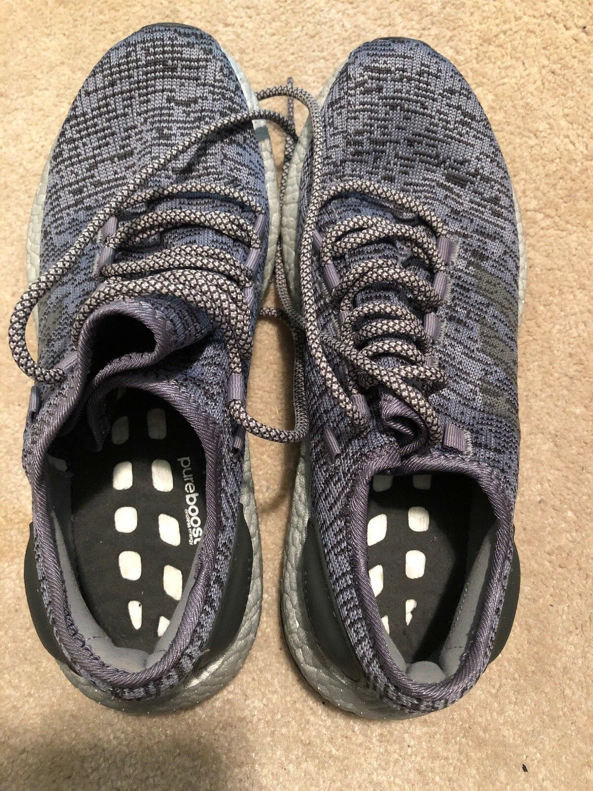 Adidas Pure Boost bluee Nave Ltd Mens Size 9 Used