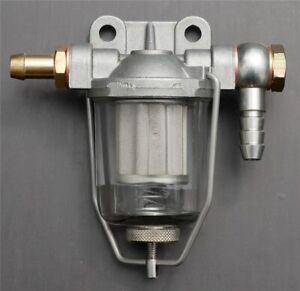 Kraftstofffilter Vorfilter Filter Landcruiser Pre-Filter Fuel 90 Grad gerade NEU