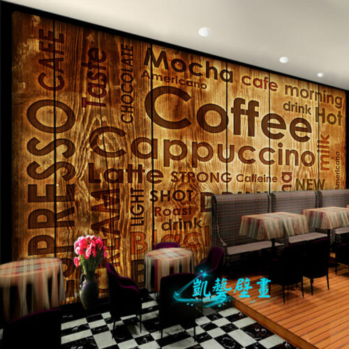 3D Wallpaper Bedroom Mural coffee shop decoration TV Background Wall BJ1530