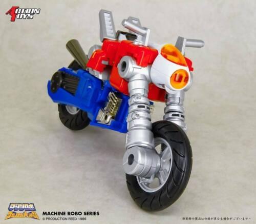 Action Toys Machine Robo Revenge Of Cronos DX Bike Robo Gobots Cy-Kill Figure
