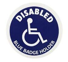 Disabili Blu Distintivo Supporto Cerchio Blu Informazioni Disabili Segno