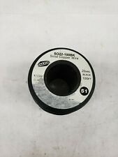 Free Ship 100-Feet Shaxon SO18-100WT Solid Copper Wire on Spool New White