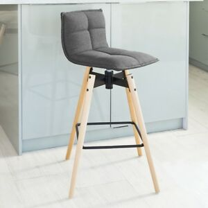 sobuy tabouret de bar cuisine rotatif 360 fauteuil bistrot fst45 dg fr ebay. Black Bedroom Furniture Sets. Home Design Ideas
