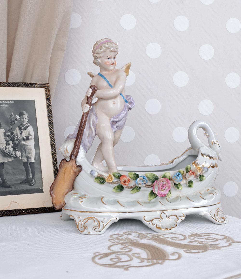 Angelo antico amor gondoliere porcellana angelo PERSONAGGIO VINTAGE PORCELLANA PERSONAGGIO Venezia