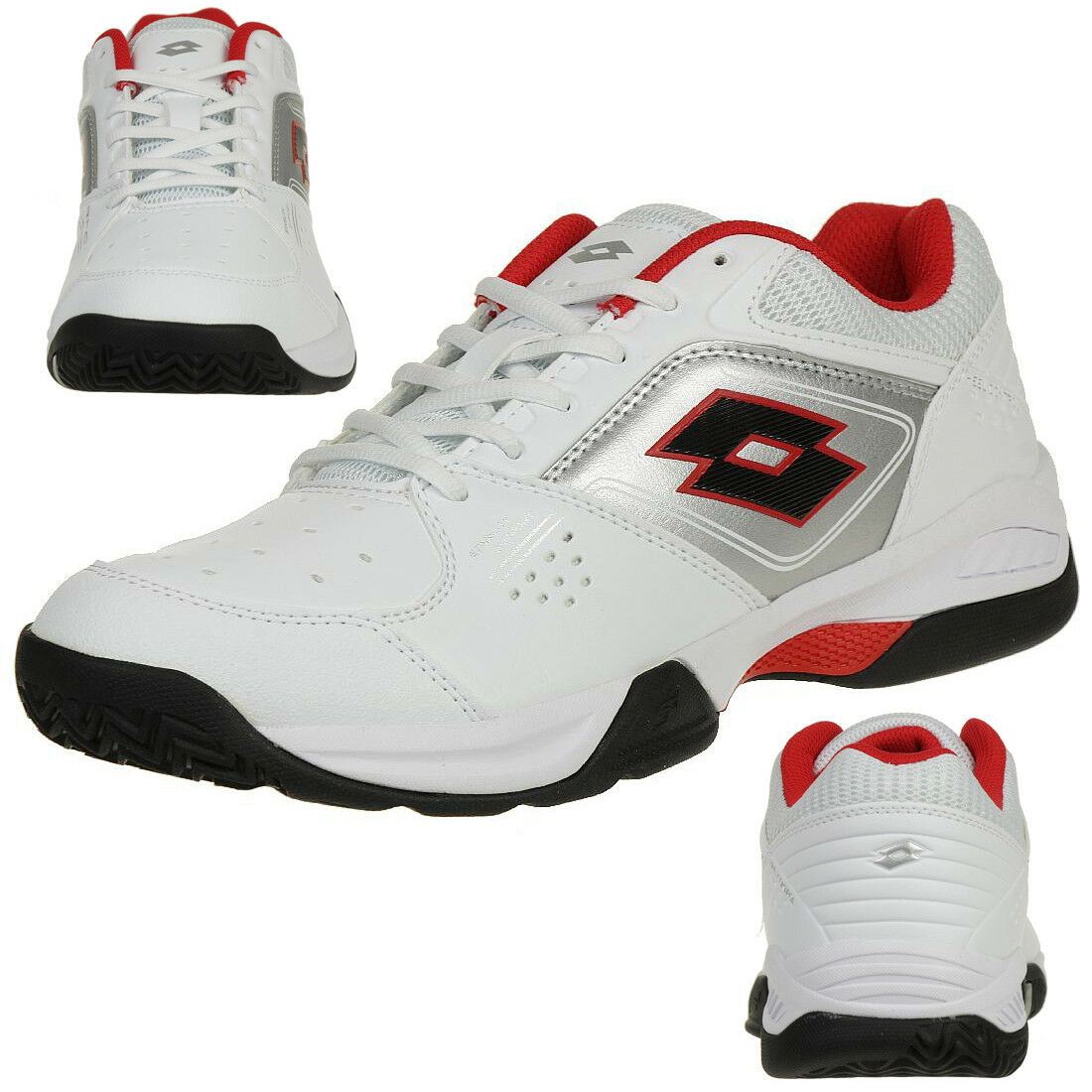 Lotto T-Tour 600 XI Herren Multicourtschuh Tennis Tennis Tennis weiss T6404 76b317