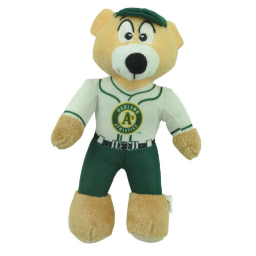 MLB Oakland Athletics Plush Mini Teddy Bear Small 9/' Baseball Player Toy Decor