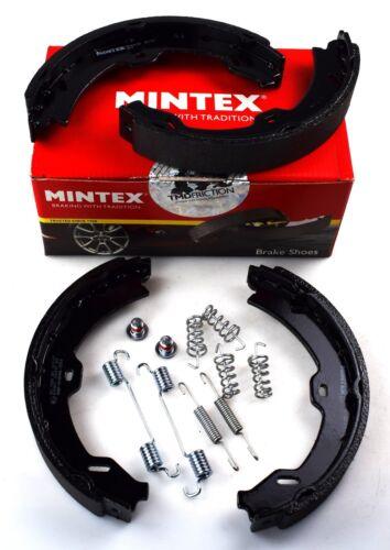 REAL IMAGE OF PART MINTEX REAR PARKING BRAKE SHOES SET MERCEDES BENZ S MFR619