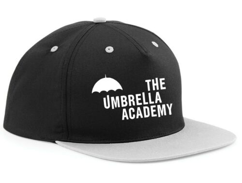 SNAPBACK HAT CAP the UMBRELLA ACADEMY inspired dark comic ADJUSTABLE gerard way