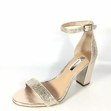 8b1ca38375b I N C International Concepts Kivah Women s Size 5.5 M Pearl Gold Heel  Sandals.