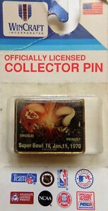 Pins wincraft SPORTS Collector Pin Great Bowl Iv. 1970