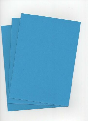 Ocean Blue A5 Quality 240gsm Card Stock select pack size 1st class FREE Postage
