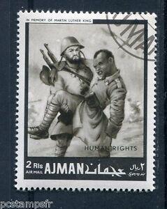 Briefmarke Hommage An Martin Luther King A Entwertet HeißEr Verkauf 50-70% Rabatt U Vae Soldats E Ajman