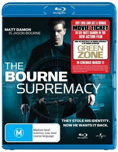 1 of 1 - The Bourne Supremacy (Blu-ray, 2010), NEW SEALED