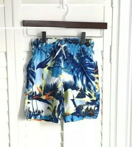 Upf Nwt Boys The Swimsuit Blue Trunks Place Tropical S 50 Childrens qFYfxFO6