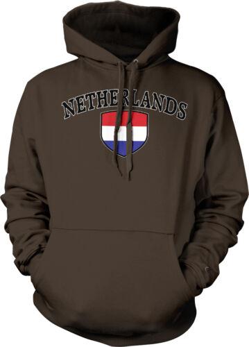 Netherlands Country Crest Flag Netherland Dutch Pride Hoodie Pullover