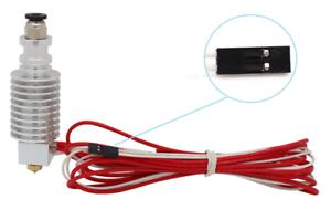 Anycubic V5 Head Hot End 0.4 Mm/1.75 Mm Pour Kossel Linéaire 3d Imprimante Extrudeuse-afficher Le Titre D'origine