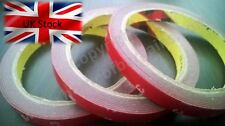 3m x 10mm Automotive strong double-sided adhesive auto car rubber tape foam UK