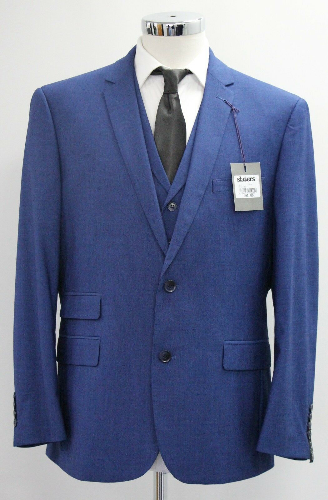 Men's Fellini tailored, bluee blazer (40R).. sample 2344