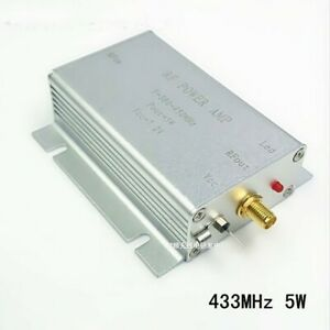 Details about 433MHz 5W HF VHF UHF FM Transmitter RF Power Amplifier AMP  For Ham Radio