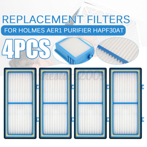 NUC 1//2//4pcs HEPA Filter For Holmes AER1 Total Air HAPF30AT Purifier HAP242