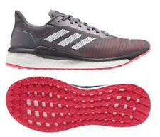 Size 8.5 - adidas Solar Drive Grey Shock Red