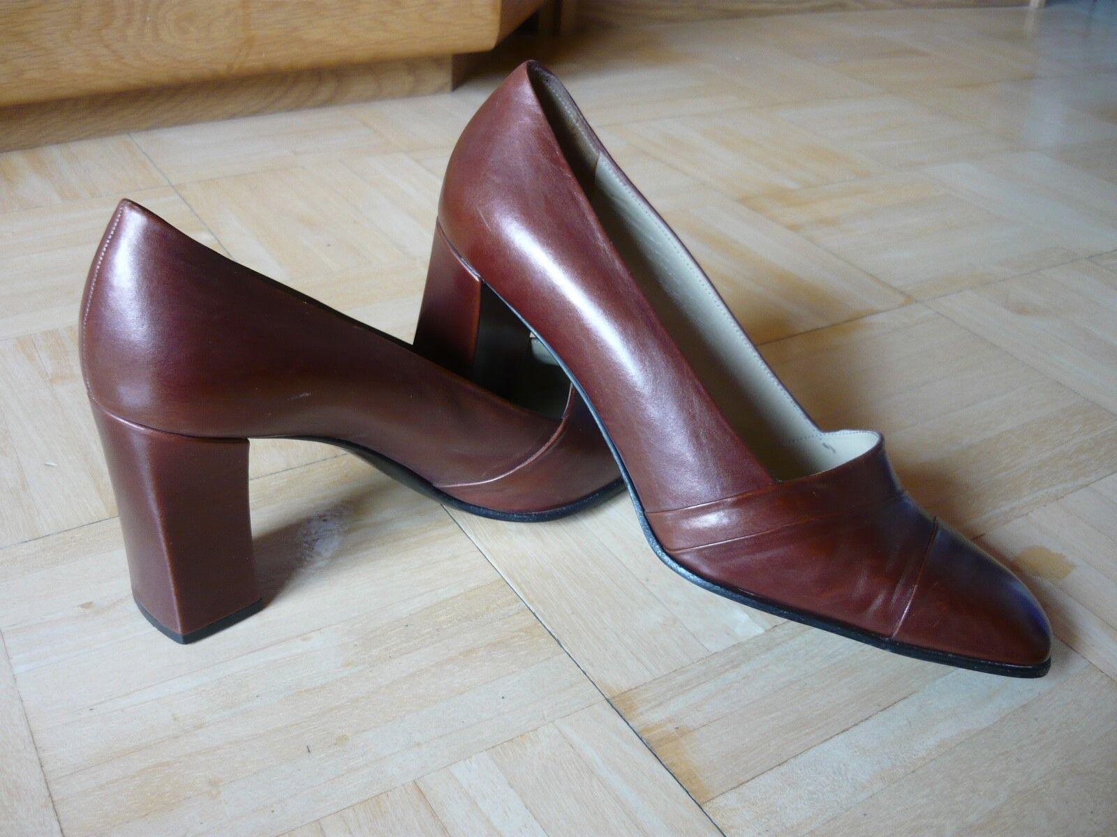 Bally Bellezza Schuhe Echtleder Modell  Rita Rita Rita  Gr.37   4 1a Zustand 061465
