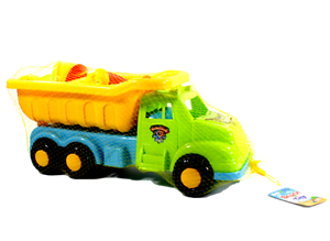 "6 pcs LARGE 20/"" Dump Truck Sand Shovel Set Beach Toys Deluxe Playset for Kids"