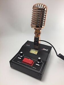 Details about GOLD DELTA M2 AMPLIFIED DYNAMIC POWER BASE MICROPHONE 5PIN  PRESIDENT CB HAM MIC
