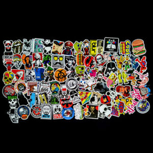 100-pcs-Skateboard-Stickers-Graffiti-Laptop-Sticker-Luggage-Car-Decals-Mix-Lot