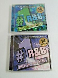 #1 R&B HITS OF 50s and 60s CD - Lot of 2 New Sealed