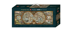 Heye 9000 Teile Puzzle Hemisphere Map 29615