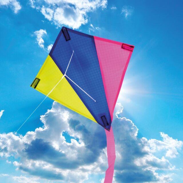 childrens single line mini kites 30 x 30cm various animal designs