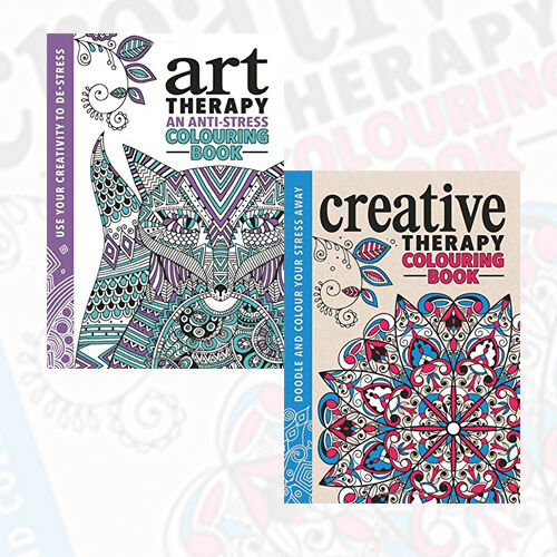 Richard Merritt Collection 2 Books Pack (The Art Therapy,The Creative Therapy)AU