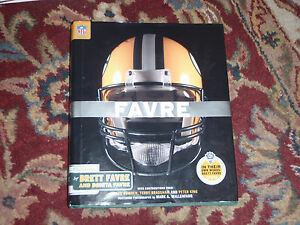 Brett Favre 4 For The Record NFL Green Bay Packers Book In Their Own Words