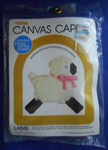 Leisure-Arts-103-Lamb-Plastic-Canvas-Capers-Kit-Dick-Martin
