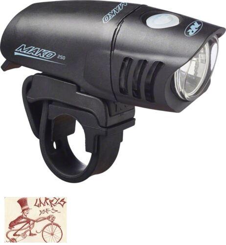 NITERIDER MAKO 250 BICYCLE HEADLIGHT