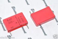 5pcs - WIMA MKP4 0.47uF (0.47µF 0,47uF 470nF) 250V 20% pich:22.5mm Capacitor