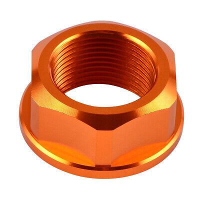 CNC Front Axle Nut Rear Wheel Lock Nut Screw For KTM 125 150 250 SX 2013-2014