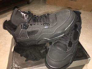 in stock bb569 b87f1 Image is loading 2006-Nike-Air-Jordan-IV-4-Retro-Black-