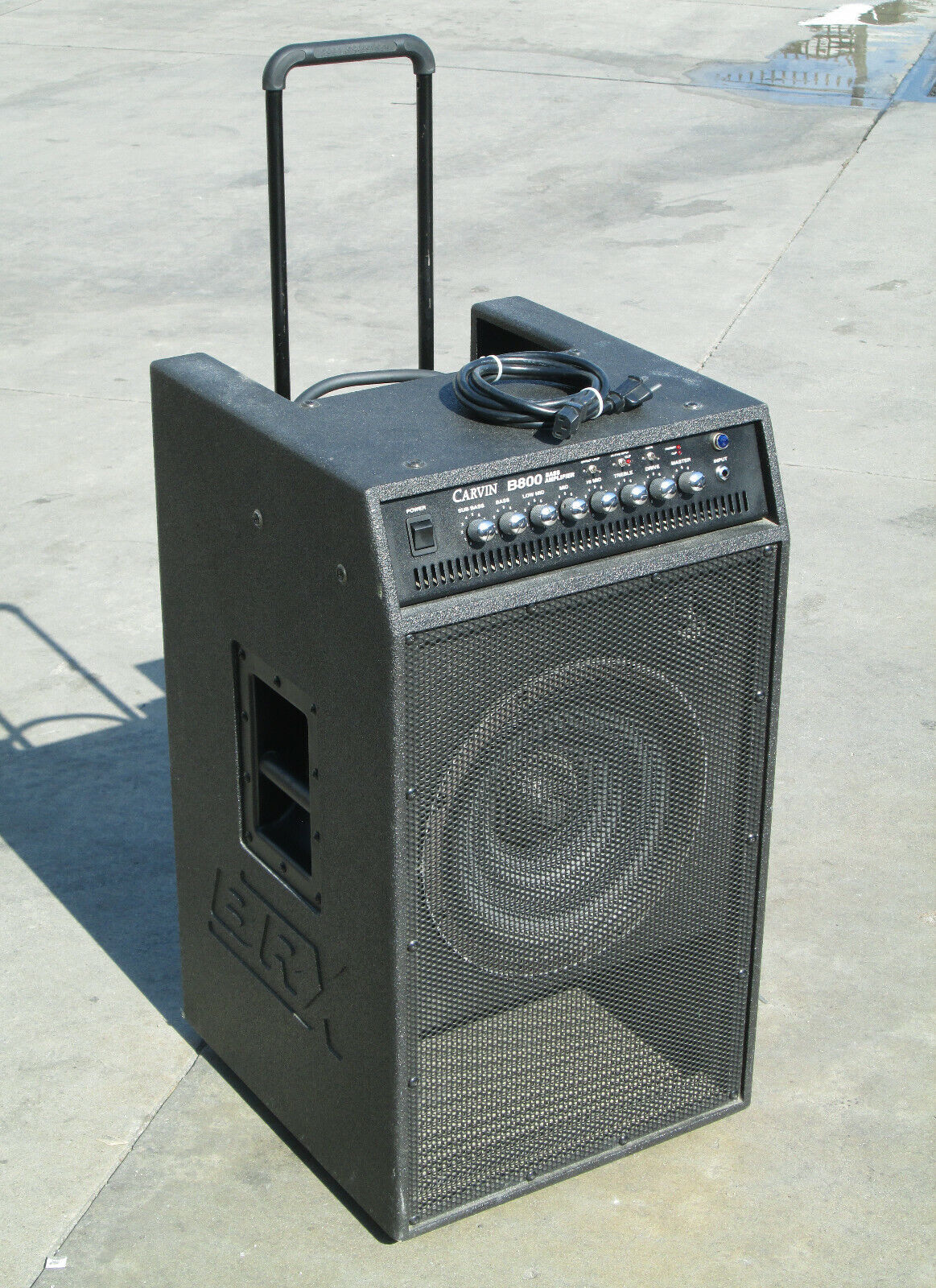 Carvin B800 Bass Amplifier Speaker Combo BRX 212 . Buy it now for 399.99