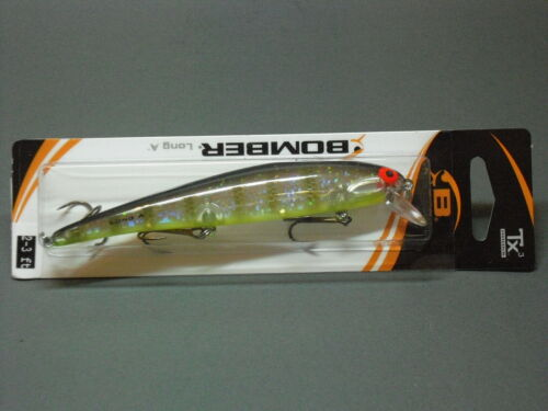 Yellow Perch 11,5 cm Bomber Wobbler B15A Long A
