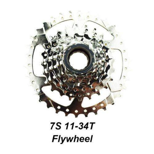 DRIFT MANIAC Bicycle 7S Freewheel 11-28T//11-34T For Electric B 7-Speeds Flywheel