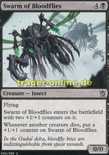 Khans of Tarkir Magic 2x Swarm of Bloodflies Blutfliegenschwarm