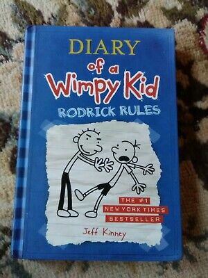 Diary Of A Wimpy Kid Rodrick Rules By Jeff Kinney Bk 2 2008 Hardcover 9780810994737 Ebay