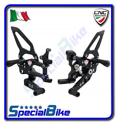 Glorieus Ducati 899 Panigale 2014 > 2015 Set Pedane Regolabili Cnc Racing Rps Easy Producten Worden Zonder Beperkingen Verkocht