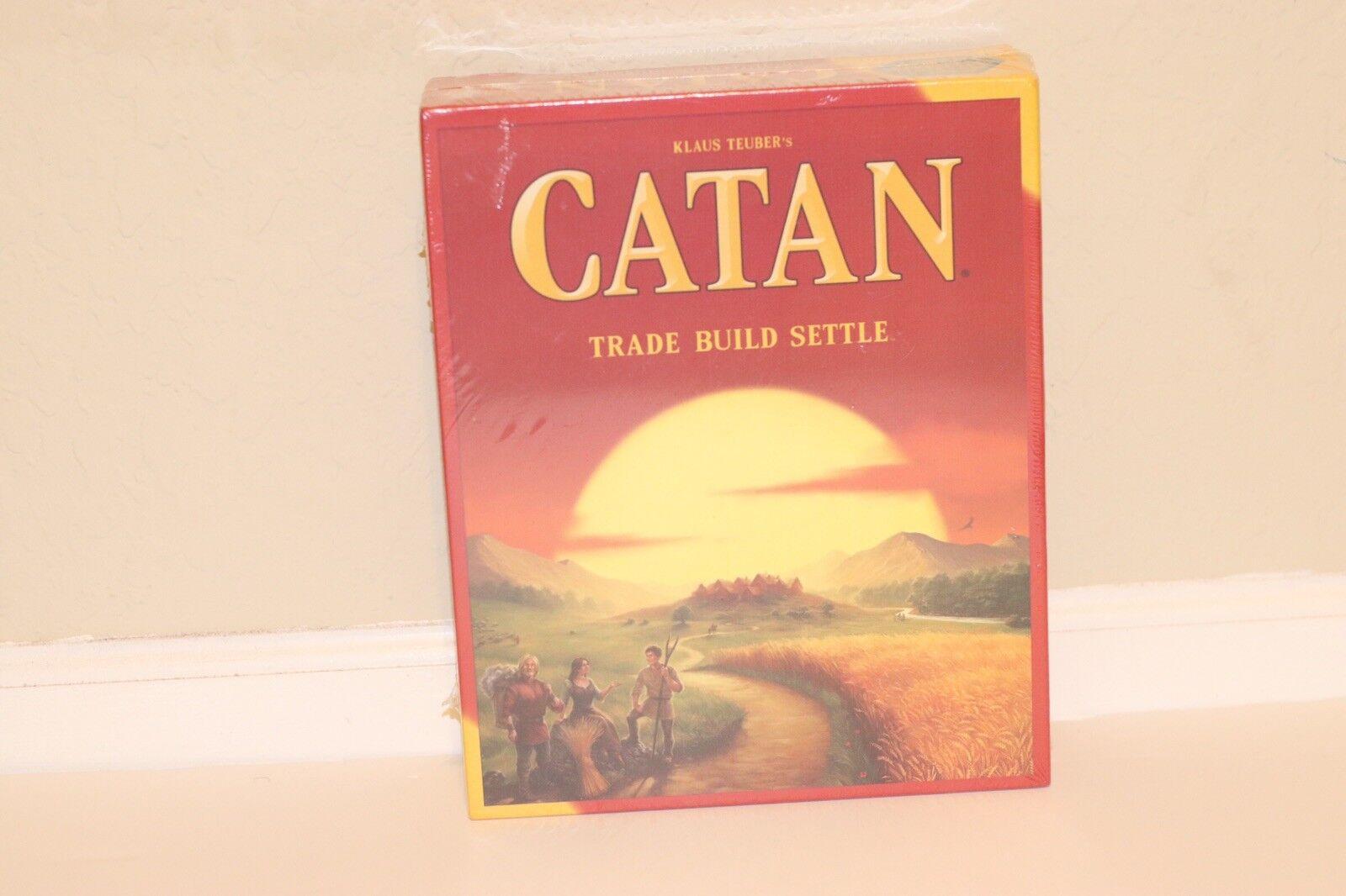 Nuevo colonos De Catan Juego De Mesa 5th Edición Fiesta Casa Juegos Regalo 4 jugadores
