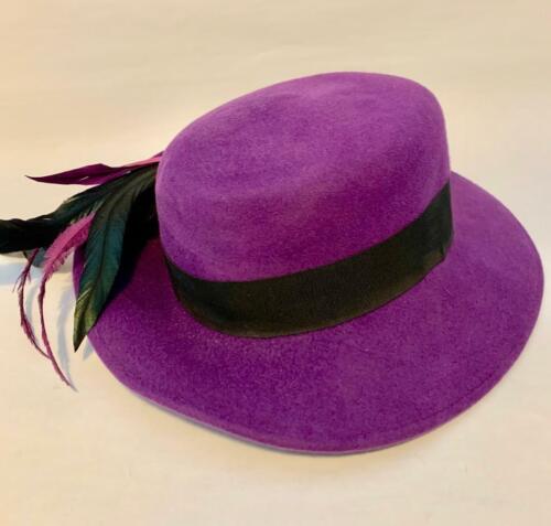 NAN DUSKIN Philadelphia Frank Olive Purple 100% Wo