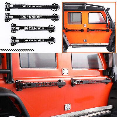 Metal Door Handles Guard for 1//10 Defender Traxxas TRX4 D90 D110 RC Crawler Car